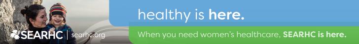 3 fold banner (women's health)