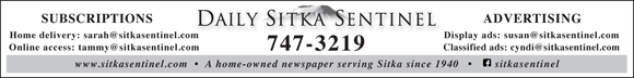 Sitka Sentinel banner